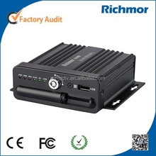 Basic 4CH SD Card Mobile DVR car DVR for vehicle, 4 channel, D1/HD1/CIF