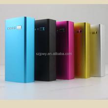 Aluminum alloy universal portable power bank let torch light portable power bank ,laptop charger power bank