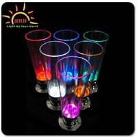 2015 new product custom led flashing cup, led glow cups, flashing led plastic cup