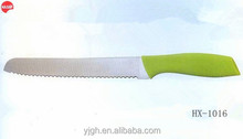 HX-1016 taper grinding blade 8 inch bread knife 2015 newest kitchen knife