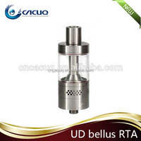 Stock Shipping UD Bellus RTA Rebuildable Atomizer Original UD Best Price UD Bellus RTA atomizer