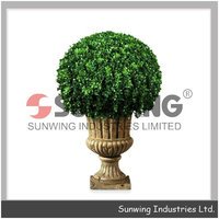 Sunwing new design decorative boxwood ball for hall