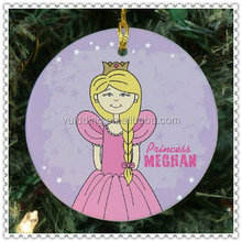 Personality Design Picture Glass Ornament For Hanging Christmas Tree