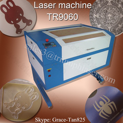 High quality China alibaba TRIUMPH tr- 9060 80W laser engraving machine price for non metal materials