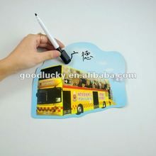 2012 fashional olympic city souvenir------magnet board with pen