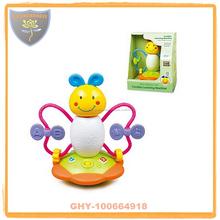 Inglés aprendizaje juguetes divertidos vaso con luz y sonido