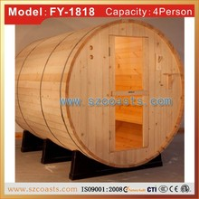 China steam sauna room/spa wood sauna room for sale
