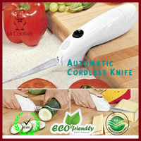 Automatic batteries vegetable Knife easy use meat steak knife kitchen tool for western food knife