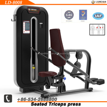 2015 new LAND Brand gym equipment/integrated gym trainer/LD-8008 seated triceps press exercise machine