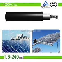 TUV Approved DC Solar Cable 4mm, Solar PV Cable 10mm for Solar Power System