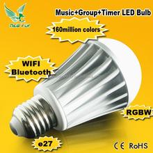Smart Wifi Bluetooth Led Bulb car music rhythm lamp led sound activated equalize