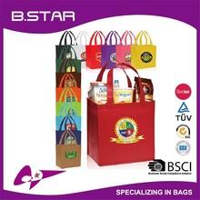 Promotional Custom patterns hot sale fashion folding Non Woven shopping bag tote bag