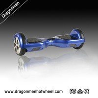 2015 Hot sale self balancing two wheel scooter with bumper strip and Colorful LED light