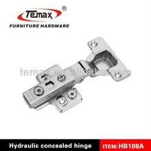OEM invisible hinge with 3d function and hydraulic cylinder