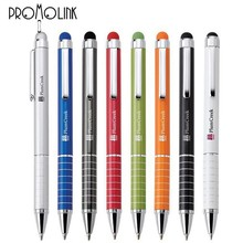 luxurious metal touch ballpoint pen manufacturers advertising stylus pen for apple