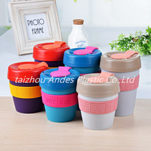 Plastic 12oz coffee mug /keep coffee cup / Colorful keep cup