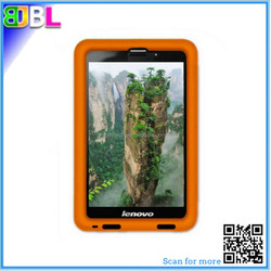 For Lenovo A3000/A3500/A5000/A3300 silicone bumper case for 7 inch tablet with strap ideatab A7 protective cover