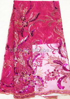 wholesale fashion african lace fabric stores in china