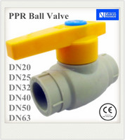 DN20 PPR Ball Valve For Water Piping Systems
