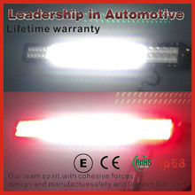 flash Off road multi color led light bar , red and yellow color changing light bar with cree leds