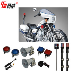 waterproof led warning light for police motorcycle