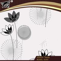 embossed pattern soundproof bamboo design vinyl wallpaper