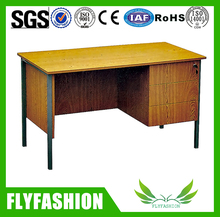 Wooden Office Table For Teacher With Drawer Office Furniture
