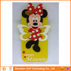 hot selling silicone soft minnie cell phone case cover for iphone 6 6plus