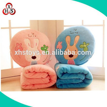 Exquisite soft animal imaged fannel blanket for children