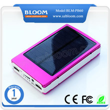 OEM solar mobile phone charger/50000mah waterproof mobile solar charger