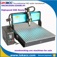 New 2200w dependable woodworking cnc machines for sale in india