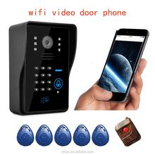 wifi video audio door bell, wireless two way, recording, talk, snapshot