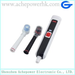 Most fashionable travel electrical toothbrush with removable head at factory price