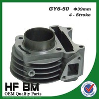 GY6-50 Motorcycles Aluminium Engine Parts Cyliner Body Piston Sets