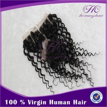 Hc Remy Hair indian hair lace frontal human hair curly weave