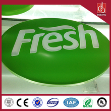 2015 Best selling super beautiful arcylic led light box With CE certificate