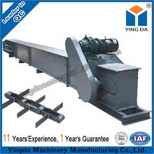 Reliable operation horizontally enclosed scraper conveyor for building
