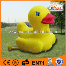 lovely customized pvc inflatable animal toys for kids