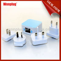 2014 New design 3.1A Dual USB travel charger