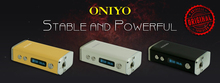 Idea product 2015 Oniyo Mini 30W Box Mod Mechanical Mods ego t battery with Gift Box made in china