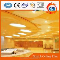 artistic modern ceiling decors designs heat reflective plastic film