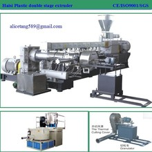 two stage cable compounding plastic extrusion machine /pellet machine for cable