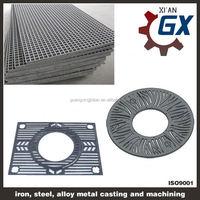 gi flat steel grating access grate