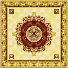 China good quality decorative art large porcelain tile for home decoration