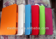 Newest Fashionable Elastic Flip Stand Leather Case for iPad Mini 10 color Free Shipping