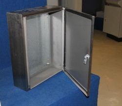 Custom stainless steel metal enclosures for electronics wall mount junction box