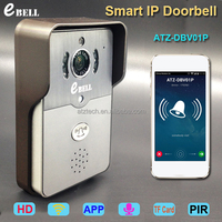 ATZ eBELL Full Duplex Audio Video Door Interphone WiFi with HD Camera System