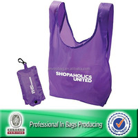Custom Cheap Polyester Shopping Bags Foldable Reusable Bag Tote Bag