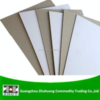 Uncoated laminated paper board