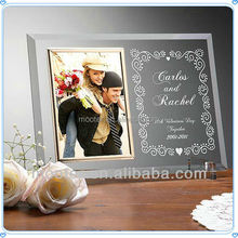 Personality Engraved Date & Name Wedding Anniversary Picture Frame